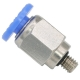 PC 04-M4 | 4 mm Tube O.D x M4 Male Connector | Push in Fitting