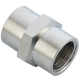 M10X1 Female Coupling Brass Pipe Fitting - SCFF M10