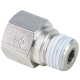 R, BSPT 1/4 Thread Male to Female Straight Check Valve