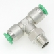 316 Stainless Steel Push to Connect Fittings, Push in Fittings
