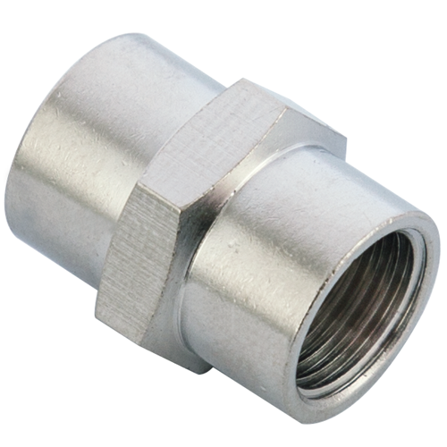M10X1 Female Coupling Brass Pipe Fitting